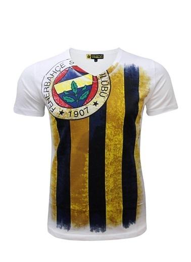 Fenerbahçe Tişört Beyaz